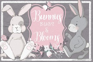 Spring Holiday Bunny Clip Art