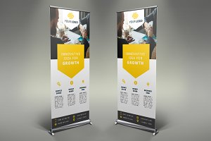 Business Roll Up Banner #089