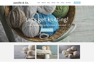 Responsive Blogger Template -Janelle