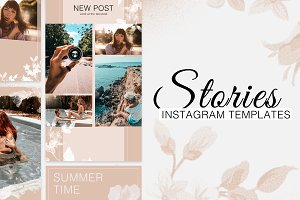 10 Instagram Stories Templates