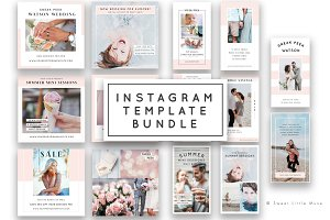 Instagram Template Bundle