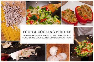 Cooking and Food Stock Bundle