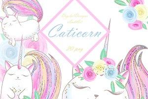 Caticorn clipart