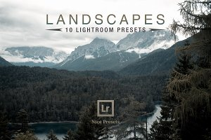 Landscapes - Lightroom Presets