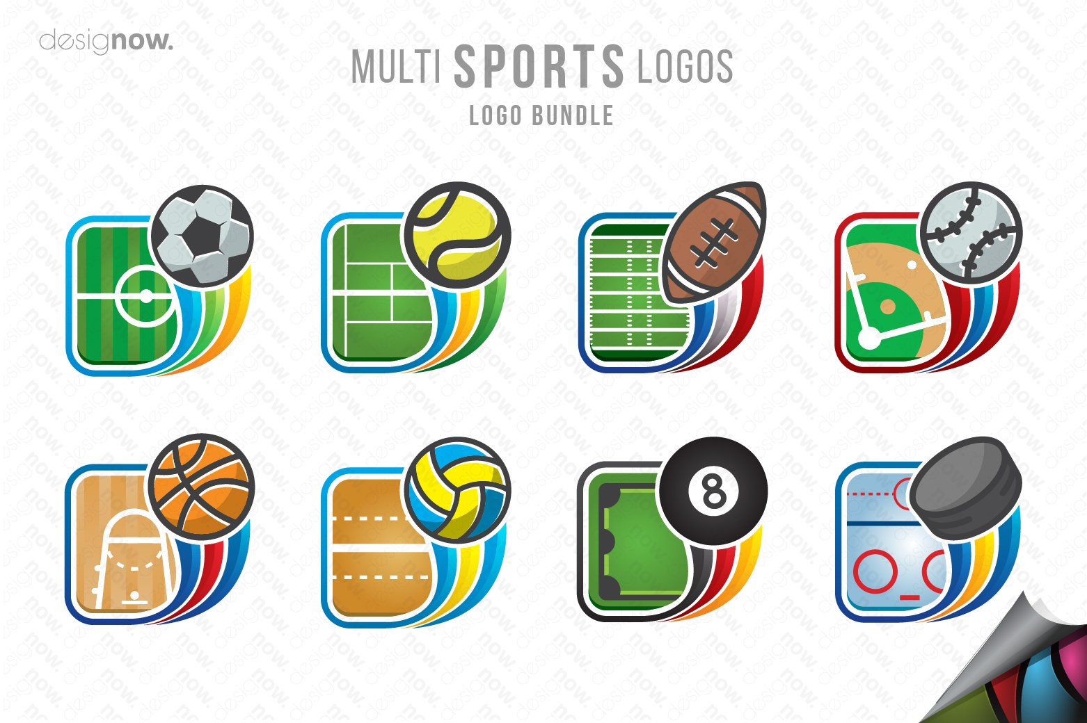 sports logos multi templates creative global fastly