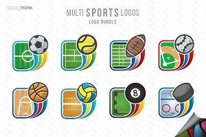 Multi Sports Logos