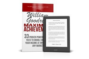 Kobo eReader with Book Mockups
