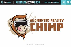 Augmented Reality Chimp Logo