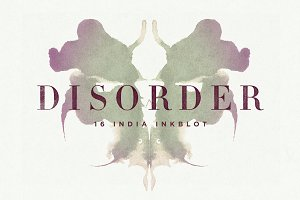 Disorder Inkblot Rorschach Tests