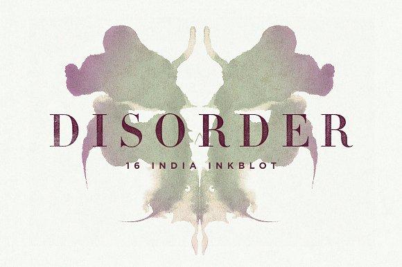 Disorder Inkblot Rorschach Tests