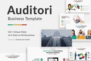 Auditori Project Keynote Template