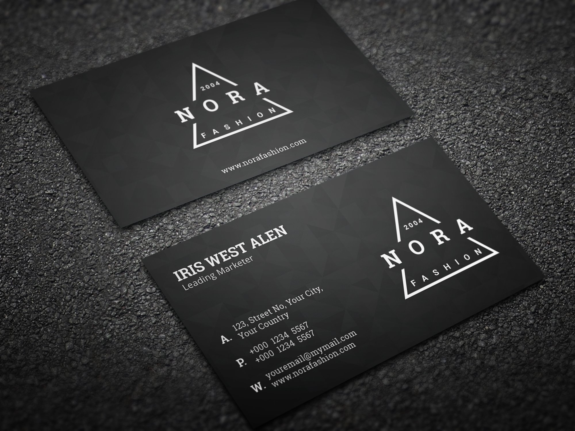 Creative Minimal Business Card ~ Business Card Templates ~ Creative ...