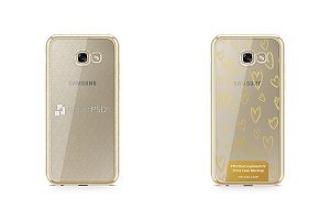 Galaxy A7 (2017) TPU Electroplated