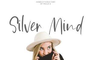 Silver Mind | Handlettered Font