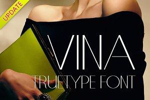 VINA TrueType Font