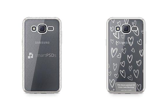 Galaxy J5 TPU Electroplated Case