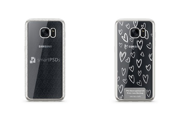 Galaxy S7 TPU Electroplated Case
