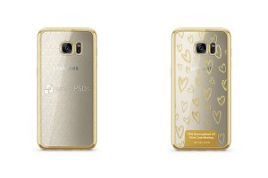 Galaxy S7 Edge TPU Electroplated