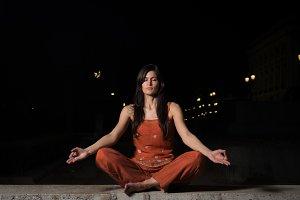 Meditation, looking for enlightenmen