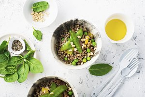 Healthy food. Buckwheat, High protei