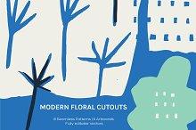 Floral Cutout   Artboards + Patterns