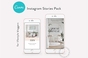 CANVA Insta Stories Templates Vol.1