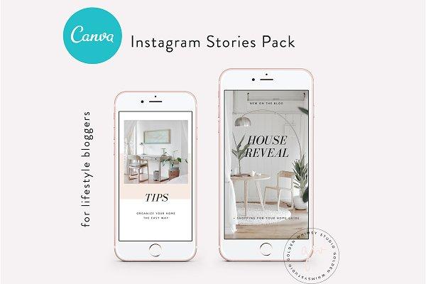 CANVA Insta Stories Templates Vol.1