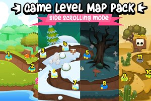 Game Level Map Pack 2
