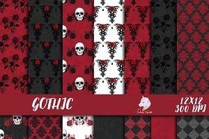 Gothic Digital Paper