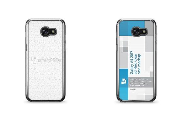 Galaxy A5 2017 2d Flexi Clear Case