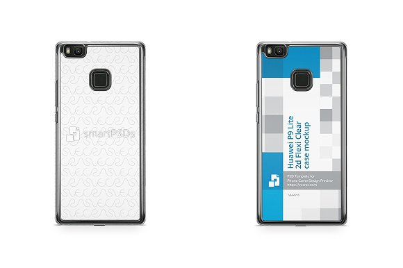 Huawei P9 Lite 2d Flexi Clear Case