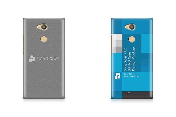 Sony Xperia L2 3D IMD Case Design