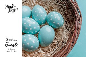 Mini Easter stock photo bundle #9357