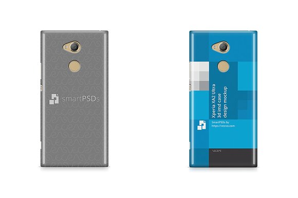 Sony Xperia XA2 Ultra 3D IMD Case