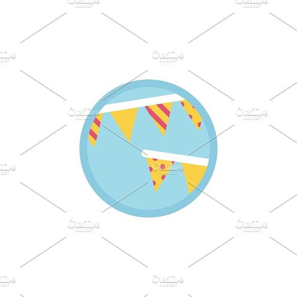 Illustration of birthday icon in Illustrations