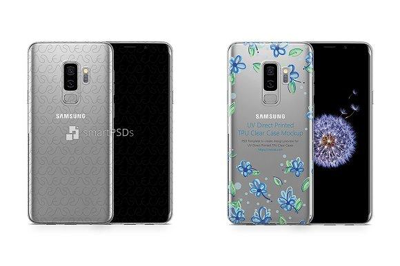 Galaxy S9 Plus UV TPU Clear Case