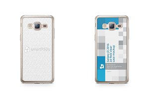 Galaxy J3 2016 2d Flexi Clear Case