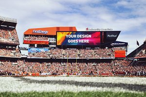NFL Stadium Display Mock-up #16
