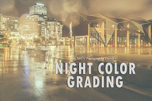 Night Color Grading - LR presets
