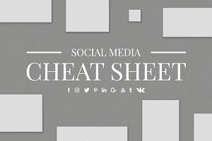 30% OFF Social Media Cheat Sheet