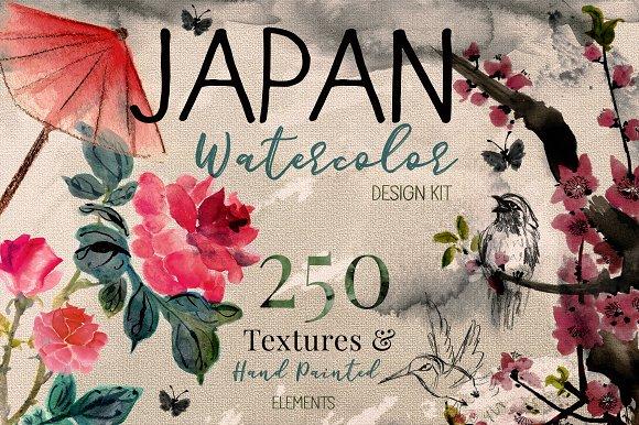 Japanese Flower art & Design Bundle