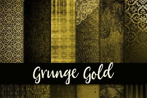 Grunge Gold Digital Paper
