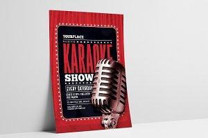 Karaoke Flyer/Poster Template