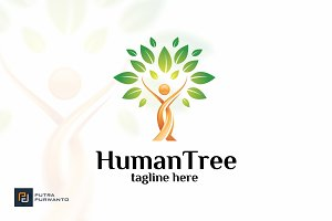 Human Tree - Logo Template