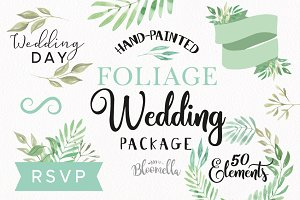 Foliage Wedding Leaves Leaf Package