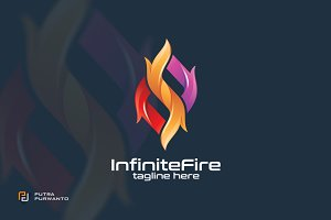 Infinite Fire - Logo Template
