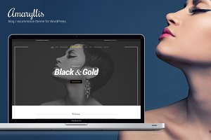 Amaryllis - WordPress Theme