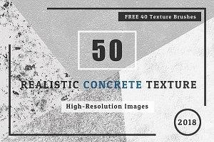50 REALISTIC  CONCRETE  TEXTURE
