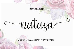 Natasa Script Font
