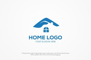 House protected logo template